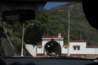 The fortress entrance